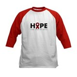 Burgundy Ribbon Hope Tee