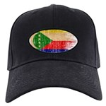 Comoros Flag Black Cap