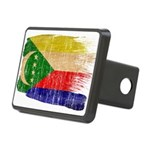 Comoros Flag Rectangular Hitch Cover