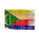 Comoros Flag Rectangle Magnet (100 pack)