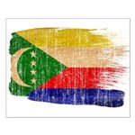 Comoros Flag Small Poster