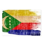 Comoros Flag Postcards (Package of 8)