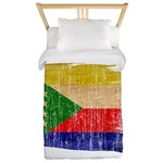 Comoros Flag Twin Duvet