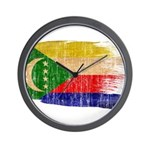 Comoros Flag Wall Clock