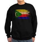 Comoros Flag Sweatshirt (dark)