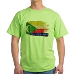 Comoros Flag Green T-Shirt