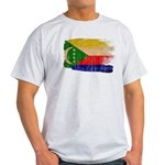 Comoros Flag Light T-Shirt