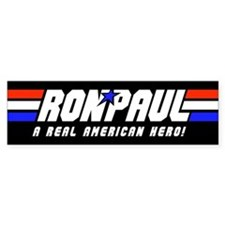 Ron Paul G.I. Bumper Sticker (Black)