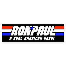 Ron Paul G.I. Bumper Sticker (Black)