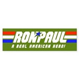 Ron Paul G.I. Bumper Sticker (Army Green)