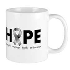 Grey Ribbon Hope Mug