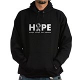 Grey Ribbon Hope Hoody