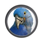 Hyacinth Macaw Wall Clock