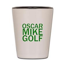 OMG-Green Shot Glass