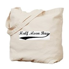 Half Moon Bay - Vintage Tote Bag