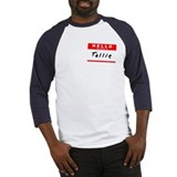 Tallie, Name Tag Sticker Baseball Jersey