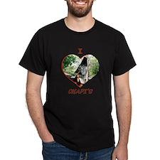 I Love Okapi's Black T-Shirt