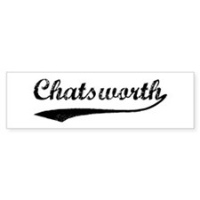 Chatsworth - Vintage Bumper Bumper Sticker