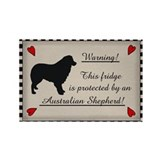 Australian Shepherd Rectangle Magnet