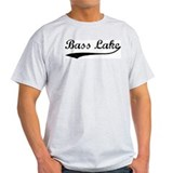 Bass Lake - Vintage Ash Grey T-Shirt