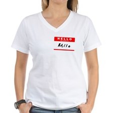 Milo, Name Tag Sticker Shirt