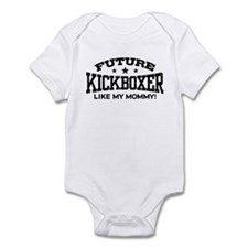 Future Kickboxer Like My Mommy Infant Bodysuit