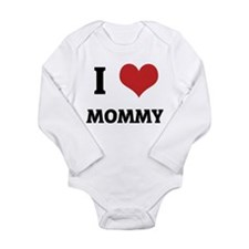 Cute Family and baby mommy Long Sleeve Infant Bodysuit