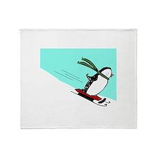 Penguin JOY Throw Blanket