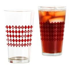 Will u be mine Drinking Glass