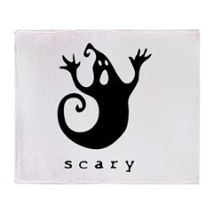 scary! Throw Blanket