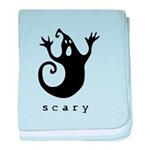 scary! baby blanket