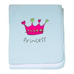 princess baby blanket