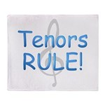 tenors rule-.png Throw Blanket
