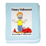 happy halloween card - ortho.png baby blanket