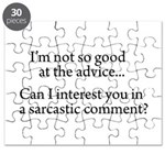 not so good at the advice Puzzle