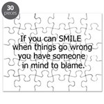 if you can smile.. Puzzle