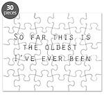 so far... Puzzle