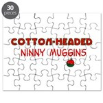 cotton-headed ninnymuggins Puzzle