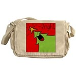 XMAS bright Messenger Bag