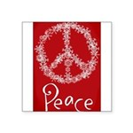 peace Square Sticker 3