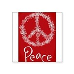 peace Square Sticker 3