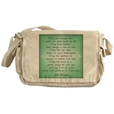irish blessing (sq) Messenger Bag