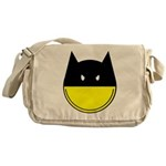 bat smiley Messenger Bag