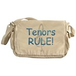 tenors rule-.png Messenger Bag