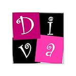 DIVA Square Sticker 3