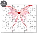 red heart wings Puzzle