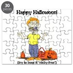 happy halloween card - ortho.png Puzzle
