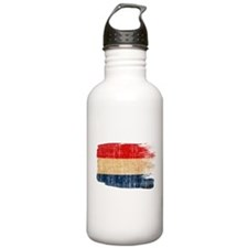 Netherlands Flag Water Bottle