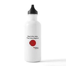 Algebra Teacher Black.png Water Bottle