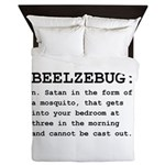 Beelzebug Definition Black.png Queen Duvet